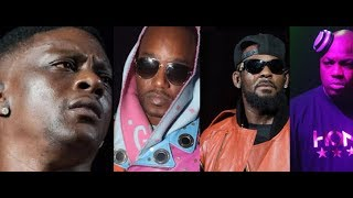 DJ Mister Cee REACT to Charlamagne and R Kelly and Internet REACTS CAMRON and BOOSIE SPEAK TRUTH