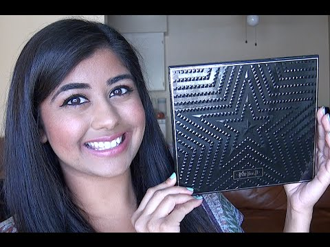 Kat Von D Star Studded Eyeshadow Book Review & Swatches!