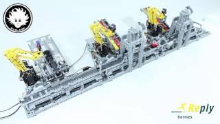 LEGO Car Factory (Hermes Reply)