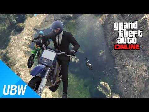 상남자의 오프로드 레이스!![GTA5 작업탐방:Dirtbike Survival Race 두번째도전] Grand Theft Auto V [울산큰고래]