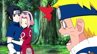 Sasuke's Funny Fights and Epic Battle with Naruto - Uchiha Sasuke's Problem AMV