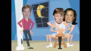 Rosie & The Donald make crafts