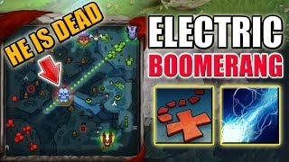 One Shot Ball Lightning Combo with X Marks the Spot [Boomerang Storm Spirit] Dota 2 Ability Draft