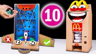 10 Amazing Things You Can Do at Home from Cardboard