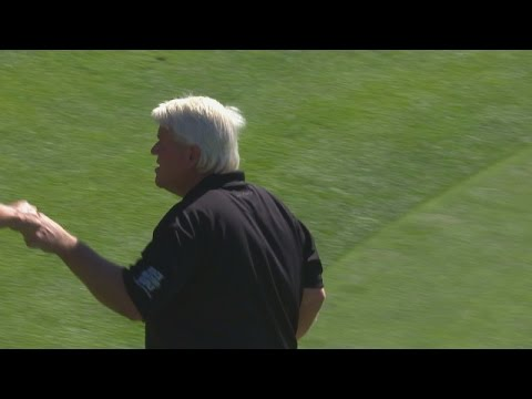 John Daly's approach to 8 feet leads to birdie at AT&T Pebble Beach