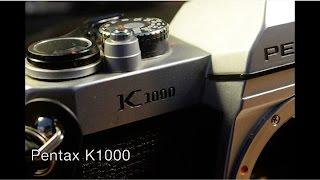 Pentax K1000 35mm Manual Film SLR Camera