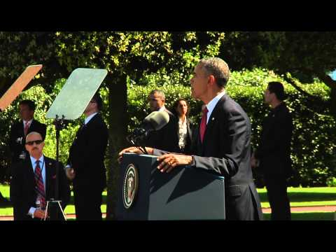 President Obama speaks at D-Day 70th
