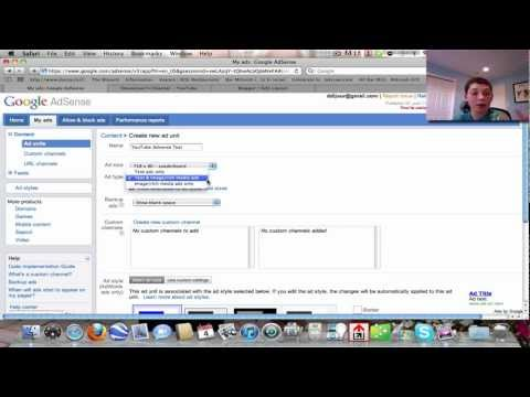 Full In Depth Adsense Tutorial! How to use ads on YouTube, a Website, and a Blog!!!