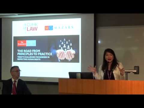 Asia Launch of The Economist Intelligence Unit Report Event - 13 May 2015