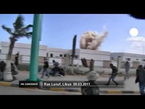 Libyan Warplanes strike rebels at Ras Lanuf - no comment