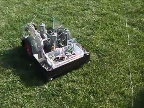 Rasenmäher Roboter Selbstbau