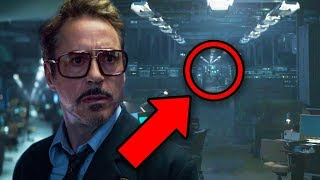 Endgame Easter Egg! Howard Stark's Secret ZOLA Project Theory!