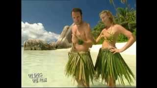 Un gars une fille - Les Seychelles - Ste Anne - les naufragés 01 /02