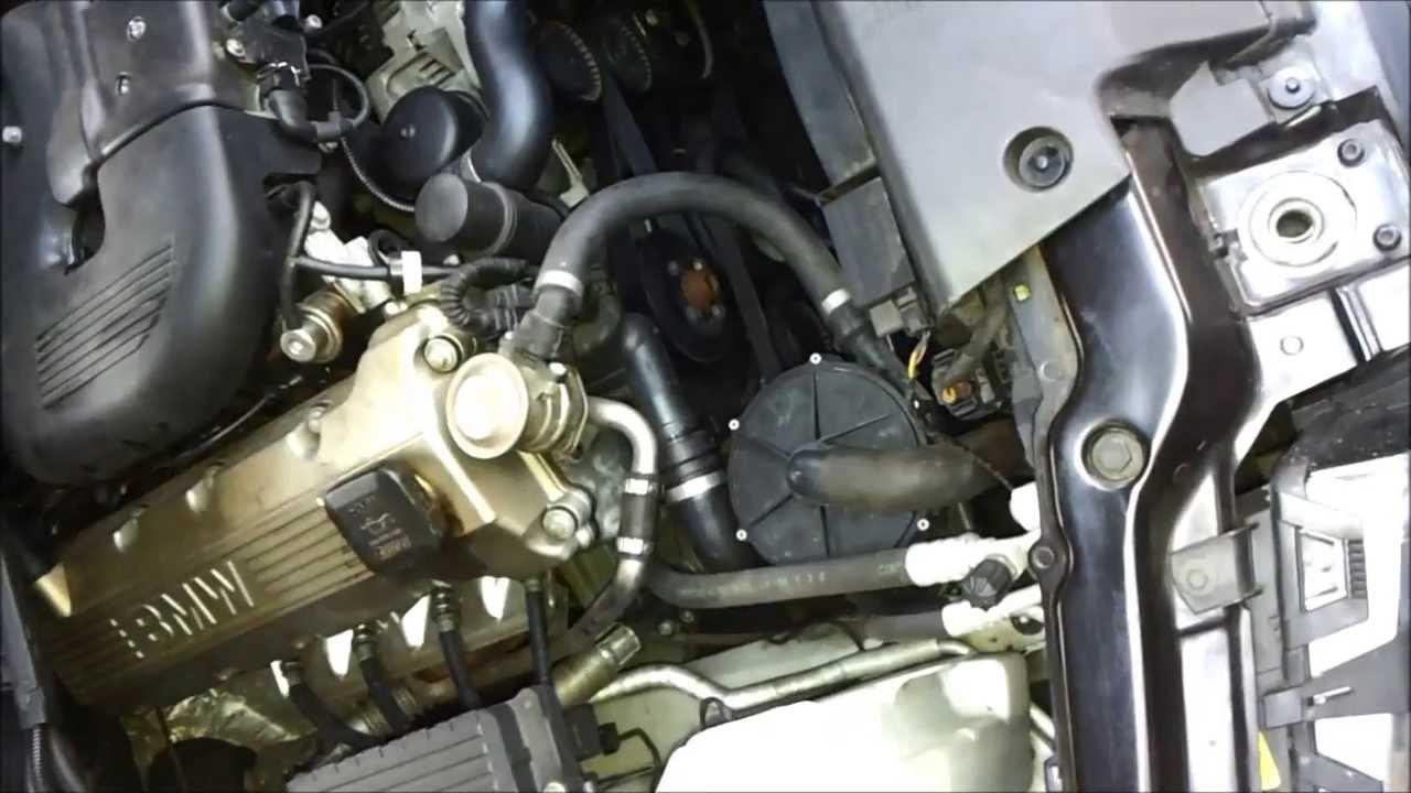 Bmw E46 318ci M43tub19 Cold Start Disa Problem Youtube