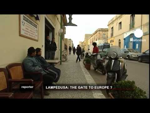 euronews reporter - Lampedusa: Italian island at the sharp end of immigration