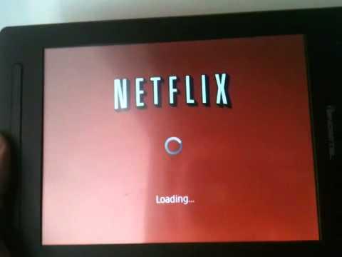 Pandigital Planet Netflix Demo