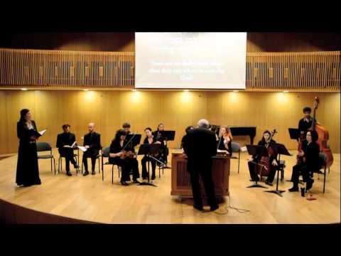 Jerusalem Baroque Orchestra,  2015 12 29, Georg Friedrich Handel, Psalms