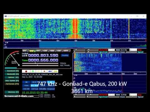 MW DX: IRIB Radio Iran 666, 747 & 927 kHz received in Germany