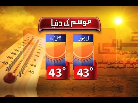 Dunya News-Scorching Heat: Rain, wind-storm relieve people of Sindh