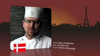 Watch Palle Sorensen from Denmark prepare for the World Chocolate Masters Final 2011