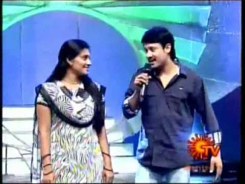 Tamil & Tulasi Duet Song In Galatta Kudumbam Show 1st May 2012 video