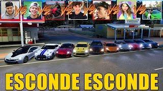 ESCONDE ESCONDE COM OS CARROS DOS YOUTUBERS - FORZA HORIZON 3 - GAMEPLAY
