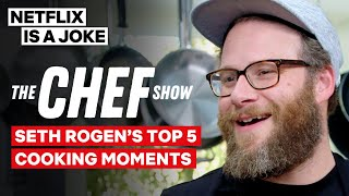 Seth Rogen Has A Funny Bone For Chicken | The Chef Show | Netflix Is A Joke