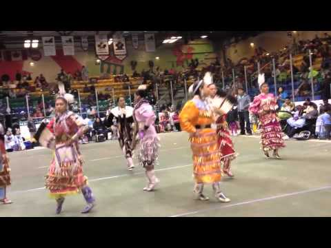 NLC Pow wow 2012 Womens Jingle special Prince Albert