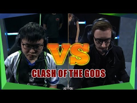 Bjergsen VS Uzi - 2017 All-Star 1v1 Grand Finals