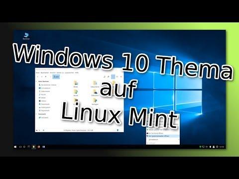 Ein fast waschechter Windows 10 Desktop auf Cinnamon - Linux Mint Tutorial