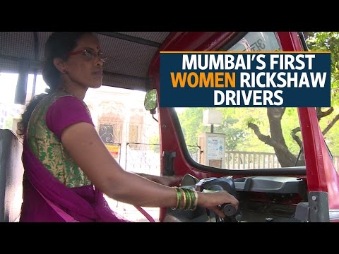 Meet Mumbai's first women rickshaw drivers
