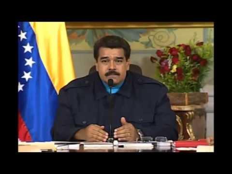Nicolás Maduro, presidente de Venezuela, le responde a Obama - Completo