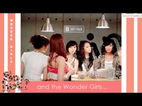 Wonder Girls - So Hot (Official English Version) Lyrics HD Music Videos