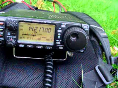 QSO with MW0ZZK from KC2TAU