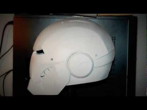 Iron Man Helmet Pattern Iron Man Helmet Mark Iii