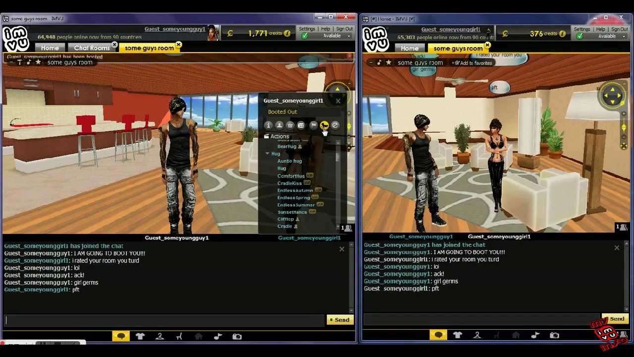 How To Boot In Imvu Chat Rooms Tutorial 24 2013 Edition