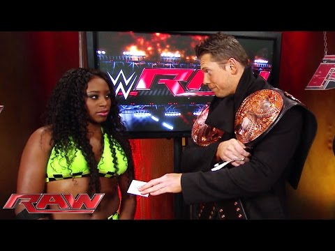 The Miz Has A Few Words For Naomi: Raw, December 1, 2014 video