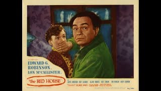 ❤1947 MYSTERY! Edward G. Robinson 'The Red House'  Classic Movie Black & White  from one4allfour1