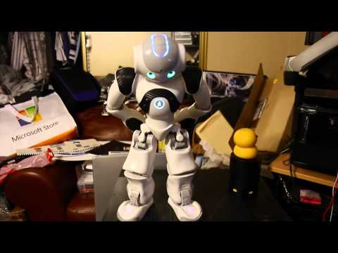 Nao Robot j2 s simple Demo