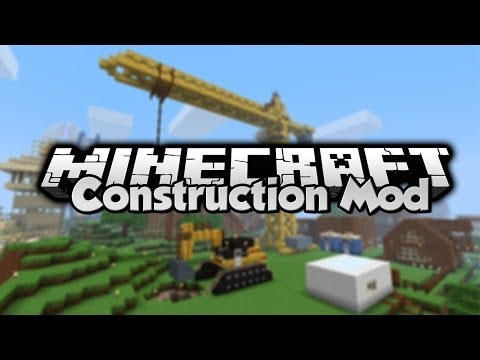 Minecraft - Mod Showcase - Construction Mod