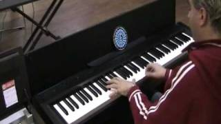 Casio Privia PX-830 - Demo Piano Live by Max Tempia parte 1