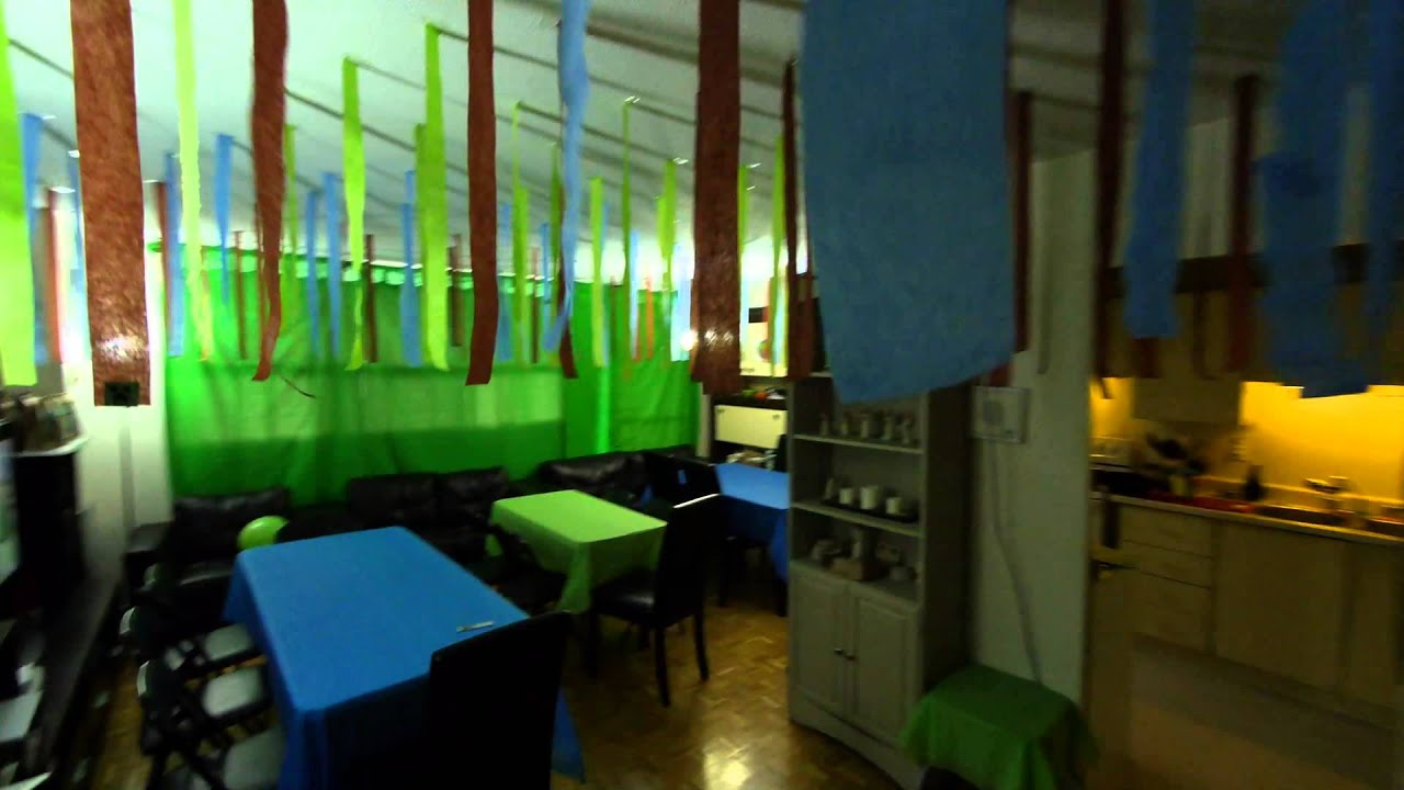 Minecraft Birthday Party Decorations - YouTube
