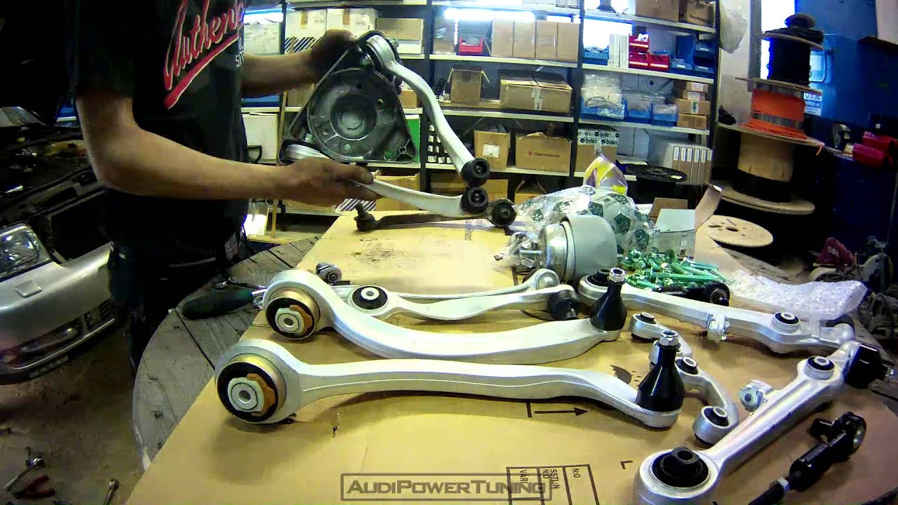Audi A4 1.8t >> Timelapse - New Control Arms - Audi A4 B5 1.8T Quattro - YouTube