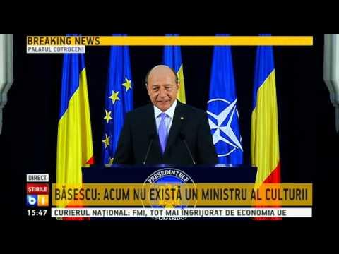 Conferința de presă a preşedintelui Traian Băsescu - 9 octombrie 2014