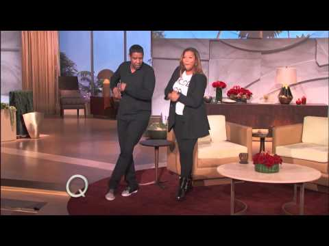 Denzel Washington Shows Off His Pip Moves