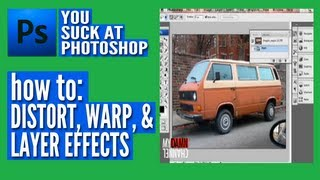 Thumb Photoshop: Distorsionar, Warp, y Efectos de Capas
