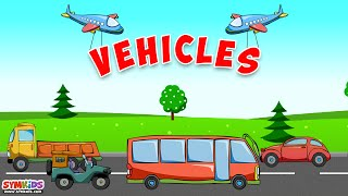 Learn Vehicles - learning transport vehicles for kids