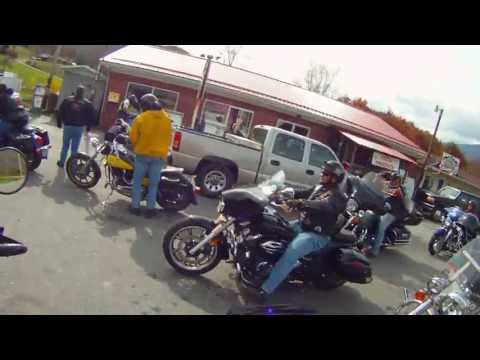 Shop With a Cop Charity Motorcycle Ride Spruce Pine, NC