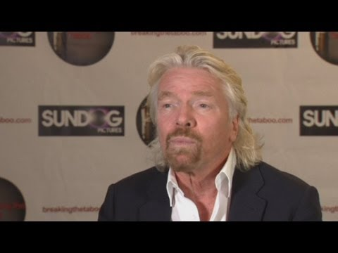 Sir Richard Branson: Drug users should not face jail and space flight ready for 2014