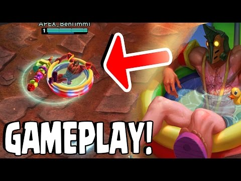 Vainglory - SUMMER PARTY SAW SKIN GAMEPLAY! Saw Limited Edition Skin!